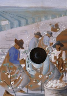 Candido Portinari, Colheita do Algodão, Guache sobre Papel Art And Illustration, Modern Art, Contemporary Art, Carpeaux, Pictures At An Exhibition, Art Impressions, Arte Popular, Claude Monet, Art Google