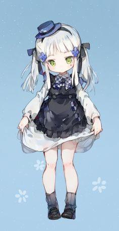 drawn by Imoko Loli Kawaii, Kawaii Chibi, Cute Chibi, Kawaii Anime Girl, Kawaii Art, Anime Girls, Anime Chibi, Lolis Anime, Anime Art
