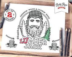 Boys Birthday Invitation Lumberjack birthday Invite plaid