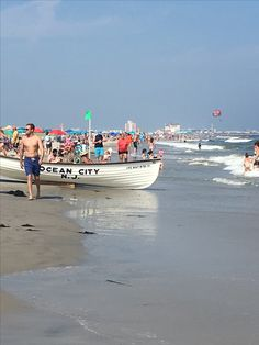 OCEAN CITY, NEW JERSEY Jersey Girl, New Jersey, Somers Point, Nj Shore, Ocean City Nj, Family Resorts, Yesterday And Today, Atlantic City, Beach Town