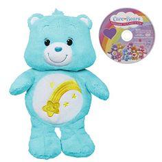 Care Bears Wish Bear 12 Inch Plush with bonus DVD Hasbro http://www.amazon.com/dp/B00972FM9Q/ref=cm_sw_r_pi_dp_ALK5ub0G0252C