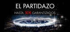 Consigue hasta 50 euros en la promoción del partido del Real Madrid contra el Schalke en la champions league.
