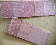 Rose-tone summer; Skintone: pink dawn, rose petal mauve, rose ash, dusty rose mauve, rose-brown madder