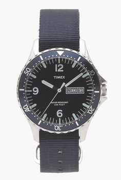Timex® for J.Crew Andros watch - Timex - Men's j.crew in good company - J. Top Watches For Men, Cool Watches, Men's Watches, Black Watches, Jewelry Watches, Italian Leather Shoes, J Crew Men, Types Of Shoes, Quartz Watch