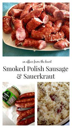 Smoked Polish Sausage & Sauerkraut