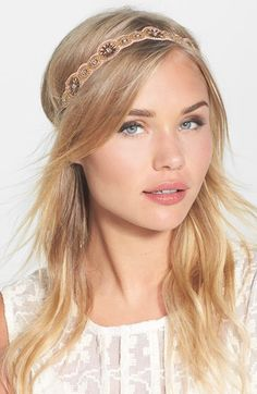 Berry 'I'm So Pretty' Head Wrap available at #Nordstrom