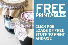 {free printables} Canning Labels For your Homemade Goodies   Blog   Botanical PaperWorks
