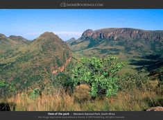 Marakele National Park – Travel Guide, Map & More! Weather And Climate, Travel Guides, Travel Tips, Mountain Landscape, Free Travel, Wonderful Places, Tourism, National Parks, Scenery