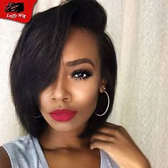 black womens hair styles this is one of the sexiest bobs the side part 2572
