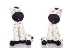 Cake Topper Wedding  Zebra by CustomShape on Etsy