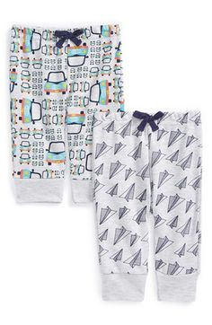 Free shipping and returns on ROSIE POPE Print Cotton Pants (2-Pack) (Baby Boys) at Nordstrom.com. Build baby's wardrobe with this duo of soft cotton pants designed with playful colors and prints. An elastic waist ensures a comfy fit and allows for easy style changes.