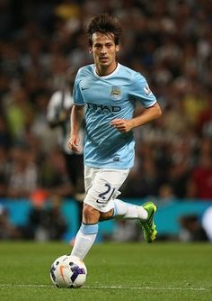~ David Silva of Manchester City against Newcastle United ~