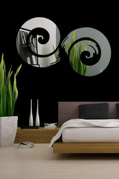 Love these   Wall Decals  Projection Mirror-Reflective Decal Mirror-WALLTAT.com Art Without Boundaries