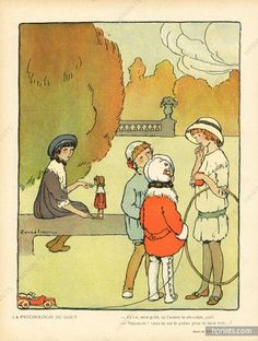 Le Sourire, 1912 ~ Pere Torné-Esquius