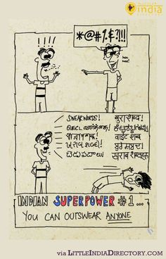 Cartoon for August 2014 - Indian Superpower No.1