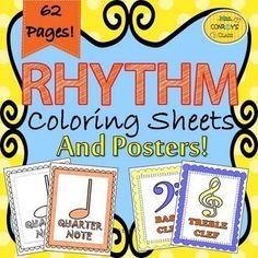 Rhythm Coloring Shee
