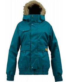 Burton Tabloid Snowboard Jacket  - right colour, has 100g insulation and jacket to pant interface.
