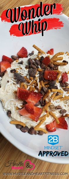 2B Mindset Approved Wonder Whips Recipes | Fix Friendly Recipes And Tips | United States | Hustle & Heart Fitness Healthy Dessert Recipes, Healthy Treats, Heart Healthy Desserts, Clean Eating Recipes, Smoothie Recipes, Appetizer Recipes, Healthy Eating, Healthy Junk, Healthy Foods