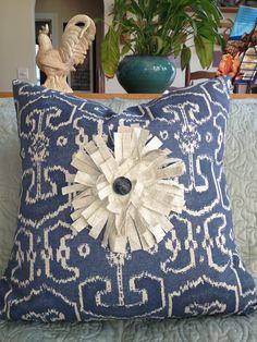 Custom pillows for the shop