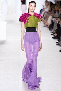 Giambattista Valli Fall 2013 Couture Fashion Show - Kremi Otashliyska (Elite)