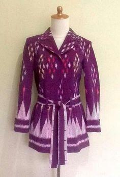 21 Super Ideas For Fashion Work Teacher Blouses Batik Blazer, Blouse Batik, Batik Dress, Muslim Fashion, Hijab Fashion, Fashion Dresses, Women's Fashion, Mode Batik, High Collar Blouse