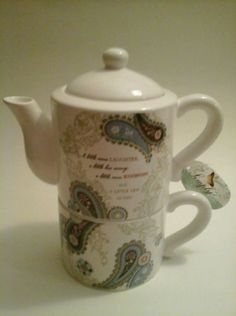 Cardew China & Dinnerware Honesty Paul Cardew Design Signed Limited Edition Collectable Teapot Tea Shop Counter