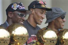 Chicago Bulls: Michael Jordan, Scottie Pippen, Dennis Rodman