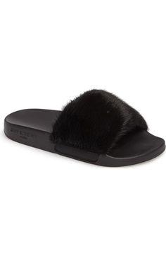 f39553864418 Givenchy Genuine Mink Fur Slide Sandal (Women) available at  Nordstrom  Slide Sandals