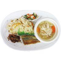 鯖の味噌煮定食(豚汁付)