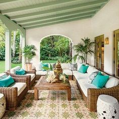 Mediterranean Terrace And Patio Decor #Mediterraneandecor