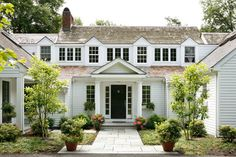 Front Entrance - traditional - exterior - philadelphia - Lasley Brahaney Architecture + Construction