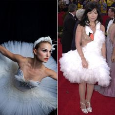 Pin for Later: These Easy 2-in-1 Halloween Costumes Will Be the Talk of the Party The White Swan or Björk