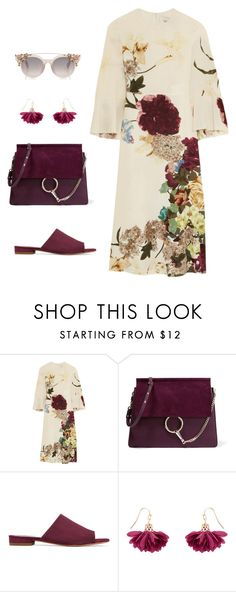 """""""Vintage"""" by yourownart ❤ liked on Polyvore featuring Valentino, Chloé, Mansur Gavriel, Accessorize and vintage"""