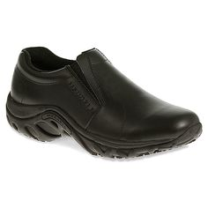 Merrell Jungle Moc Pro Grip | Women's - Black Leather - $99.99 onlineshoes
