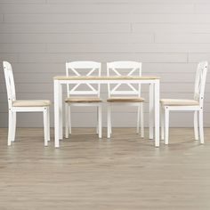 August Grove Scarlett 5 Piece Dining Set