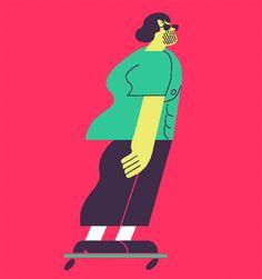 Área Visual - Blog de Arte y Diseño: Las ilustraciones y animaciones de Nicolas Ménard