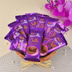 Order chocolates online for delivery in Jalandhar. Send chocolates bouquets and cake to Jalandhar, fast delivery in Jalandhar by Kalpa Florist. Cheap Chocolate, Silk Chocolate, Chocolate Basket, Chocolate Hampers, Dairy Milk Chocolate, Cadbury Dairy Milk, Chocolate World, Chocolate Day, Chocolate Bouquet