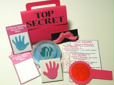 "Finished making the girls their Top Secret Helpful Mission kits for their ""Friendly and Helpful"" petal"