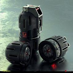 ArtStation - Grenades Original Concepts - Cyberpunk 2077, Filippo Ubertino Homemade Fireworks, Ww2 Propaganda, Future Weapons, Sci Fi Weapons, Star Wars Rpg, Weapon Concept Art, Futuristic Technology, Black Dragon, Cyberpunk 2077
