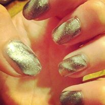 Magnetic nail polish makes great nail designs without the work !