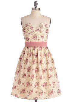 Cottage Tea Party Dress   Mod Retro Vintage Dresses   ModCloth.com
