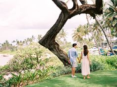 Photographs by CaileighAMY & COLIN • MAUI, HAWAII DESTINATION ENGAGEMENT SESSION | Photographs by Caileigh