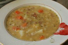 Grochowka...soupe aux pois à la polonaise.