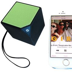 Schatzii SKYBOX MINI Bluetooth Speaker- A wireless speaker that delivers an excellent sound. Though it is sized small, it is considered a High Fidelity Bluetooth Speaker. Schatzii Skybox Mini-Micro HiFi Bluetooth Speaker plays your music from any Bluetooth enabled devices. | For more updates, follow Best Buy Portable Speakers (https://www.pinterest.com/bestbuyspeakers/)