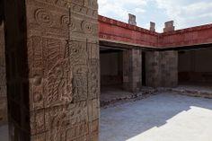Palace of Quetzalpapalotl - Teotihuacán, Mexico