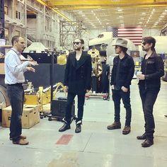 NASA Johnson Space Center engineer giving us a tour of the robots. #ISS  http://instagram.com/p/XALdiGgPqb/