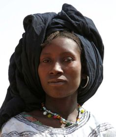 Africa   Tuareg woman.  Niger   ©Daoud Abdullah Abdullah