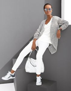 Knitwear Madeleine Fashion is part of Fashion - Club Outfits For Women, Mode Outfits, Fall Outfits, Casual Outfits, Fashion Outfits, Clothes For Women, Womens Fashion, Travel Outfits, Look Fashion