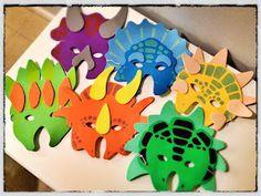Dinosaurio máscaras