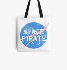 Large Bags, Small Bags, Cotton Tote Bags, Reusable Tote Bags, Space Pirate, Medium Bags, Pirates, Are You The One, Awesome